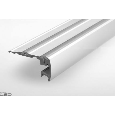 Profil led STEP anodowany 1m + sznur antyposlizgowy