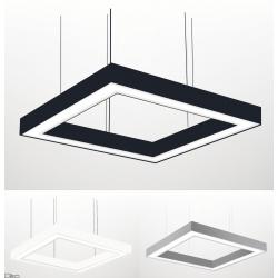 ELKIM LUPINUS/Z SQUARE lampa wisząca LED