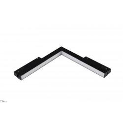 OXYLED STRIPE C-W MultiLine lampa do szyny magnetycznej w kształcie L ściana-sufit