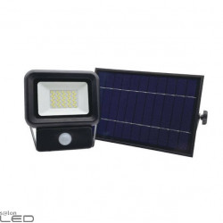 Kobi SOLAR NCS 10W/20W/30W solar floodlight with motion sensor