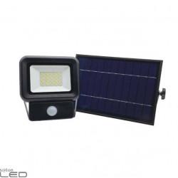 Kobi SOLAR NCS LED 10W/20W/30W naświetlacz solarny z czujnikiem ruchu