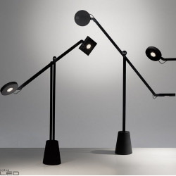 Artemide Equilibrist 12W light grey, black, white