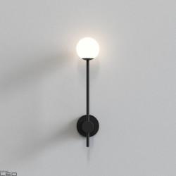 ASTRO ORB Single Kinkiet łazienkowy chrom, czarny