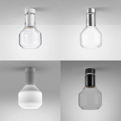 AQFORM MODERN GLASS Barrel GU10 natynkowy