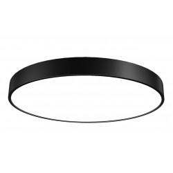 OXYLED SORIA plafon LED biały, czarny