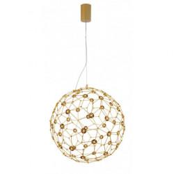 LUCES ALTA LE41321/2/3 złota lampa wisząca LED