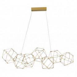 LUCES ASIS LE41325 złota lampa wisząca LED 94cm 34W