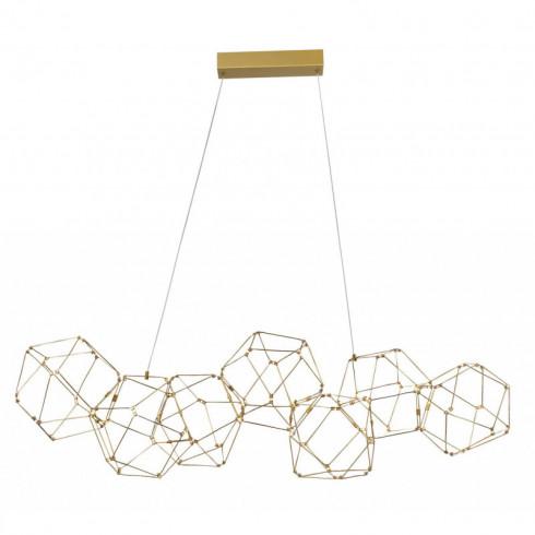 LUCES ASIS LE41325 pendant LED lamp gold 34W 3000K