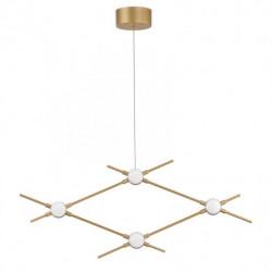 LUCES AZUL LE41329 złota lampa wisząca LED 9,6W