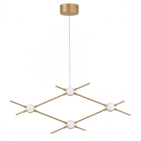 LUCES AZUL LE41329 gold pendant lamp LED 9.6W