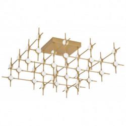 LUCES AZUL LE41333 gold LED ceiling lamp 86,4W 3000K