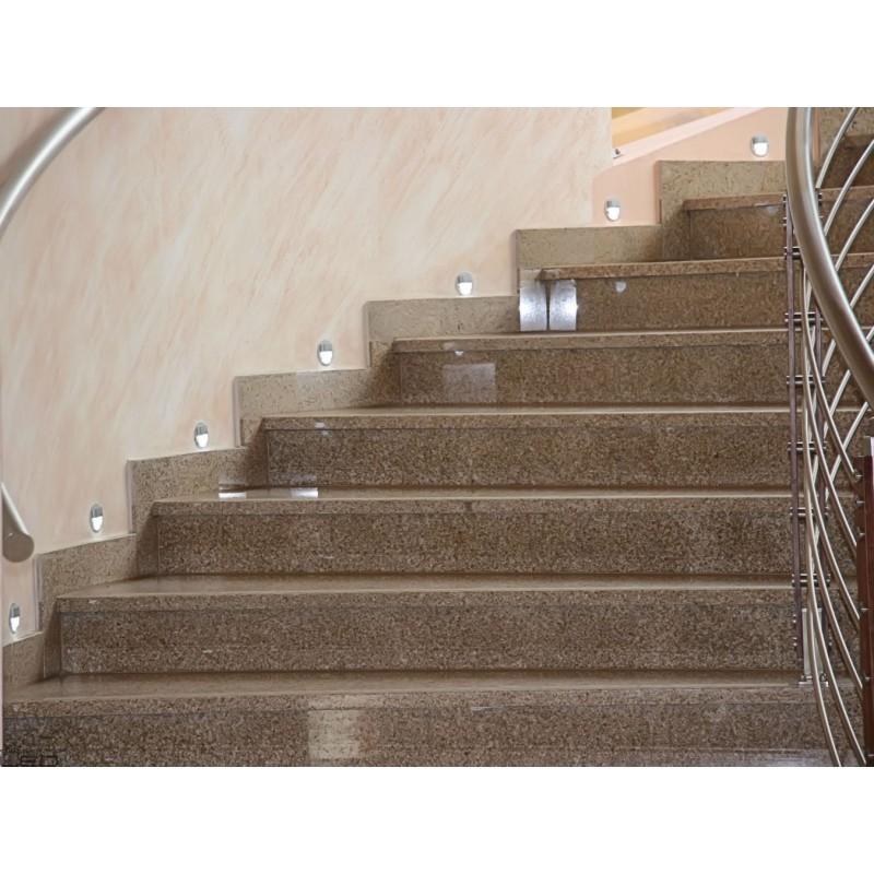LED light stair SKOFF LED RUEDA STICK alu, steel, white, black