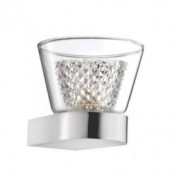 LUCES YOPAL LE41836 wall lamp chrome + single glass G9