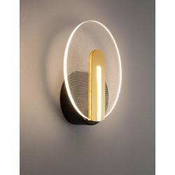 LUCES CEJA LE41374 wall LED lamp black-gold 7W