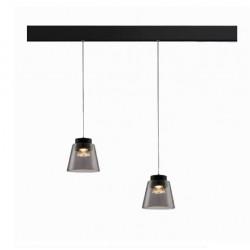 OXYLED MULTILINE BARREL lampa wisząca LED 9W magnetic