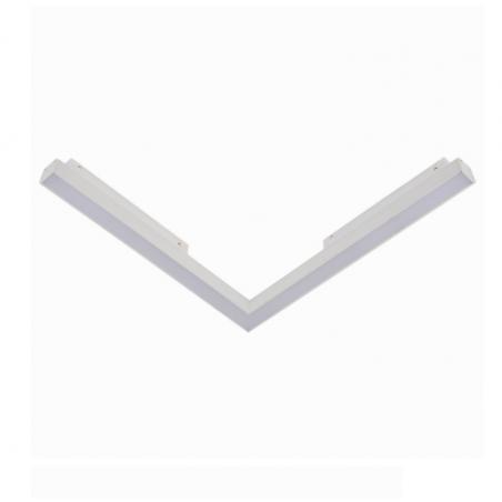 OXYLED STRIPE C MultiLine lampa do szyny magnetycznej w kształcie L