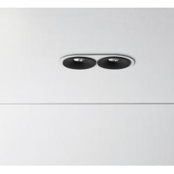 ZAHO SPEAKER RD60 2 R00090 recessed LED 2x4W
