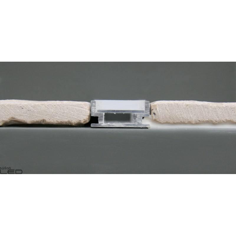 set profile led hr alu waterproof casing milk 2m. Black Bedroom Furniture Sets. Home Design Ideas