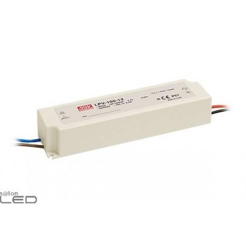 Zasilacz LED MEAN WELL 100W LPV-100-12 12V DC WODOODPORNY IP67