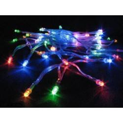 Christmas tree lights 3,6W LED multicolor with socket