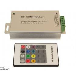The controller RF (Radio Frequency) with remote control RGB LED strip
