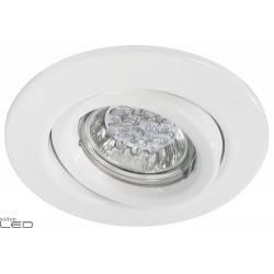 Quality LED oprawa wychylna 1x1W GU10 biała