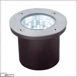 Profi EBL Floor LED 3x1,2W okrągłe stal.