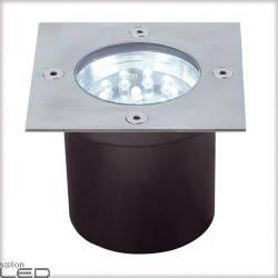 Profi EBL Floor LED 3x1,2W kwadrat stal.