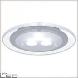 Deco LED zestaw opraw meblowych 3x3W chrom mat/akryl