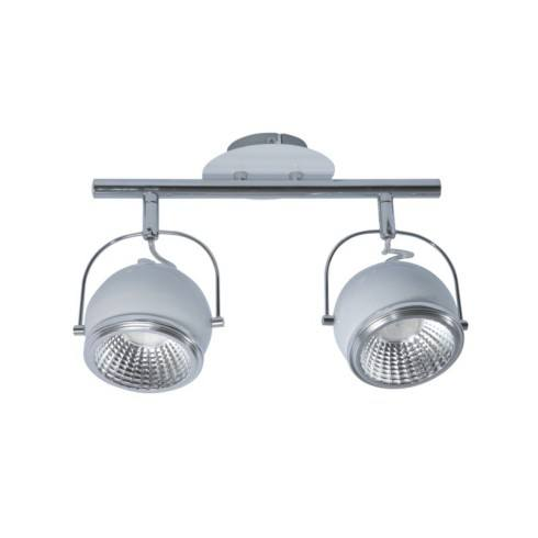 SPOT LIGHT Ceiling strip BALL LED 2X5W WHITE