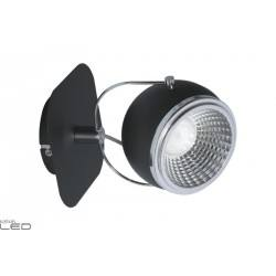 SPOT LIGHT WALL BALL LED 1X5W BLACK 5009184