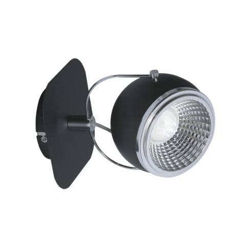 SPOT LIGHT KINKIET BALL LED 1X5W CZARNY 5009184