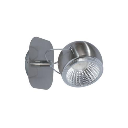 SPOT LIGHT WALL BALL LED 1X5W SATIN 5009187