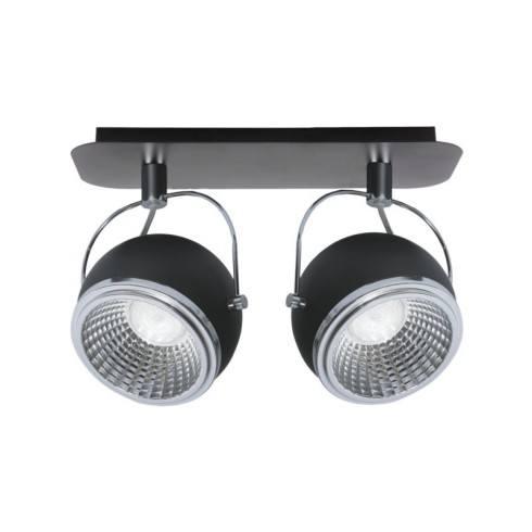 SPOT LIGHT LISTWA BALL LED 2X5W CZARNA 5009284