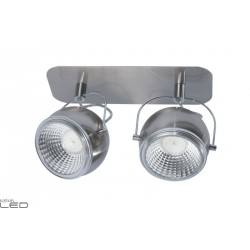 SPOT LIGHT STRIP LED 2x5W BALL SATIN 5009287