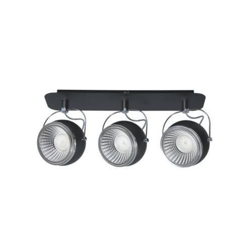 SPOT LIGHT LISTWA BALL LED 3X5W CZARNA 5009384