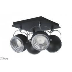 SPOT LIGHT CEILING BALL LED 4X5W BLACK