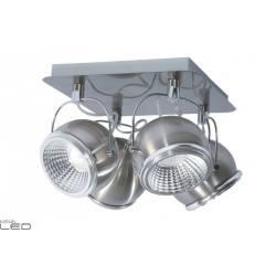SPOT LIGHT PLAFON 4X5W LED BALL SATIN 5009487
