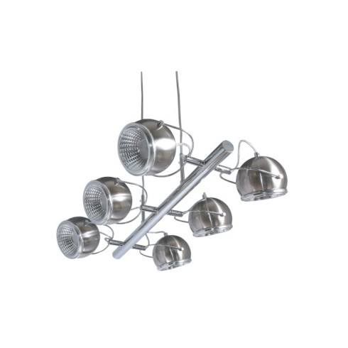 SPOT LIGHT LAMPA BALL LED 6X5W SATYNA 5009687