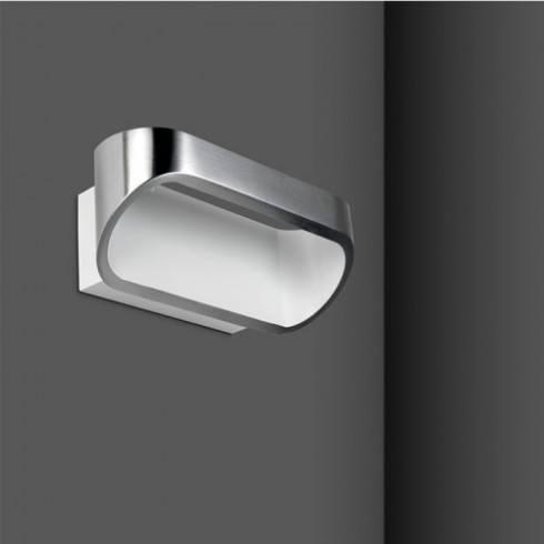 LEDS-C4 Oval wall lightt 1x6W alu satine