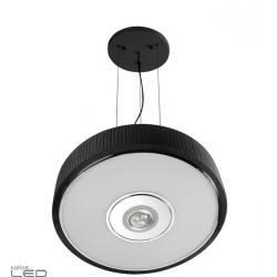 LEDS-C4 Spin lampa wisząca 3W 45cm czarna