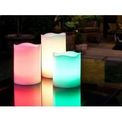 SCHULLER LED Candles 3 pcs multicolour