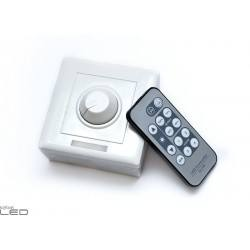 Dimmer with remote control for LED bulbs