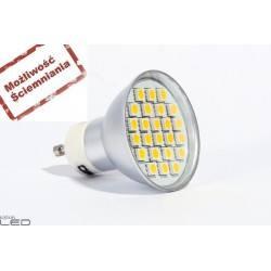 Żarówka LED GU10 SMB09D ALU b.zimna 5W 350lm