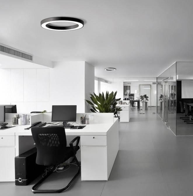 Circular LED ceiling lamp BPM