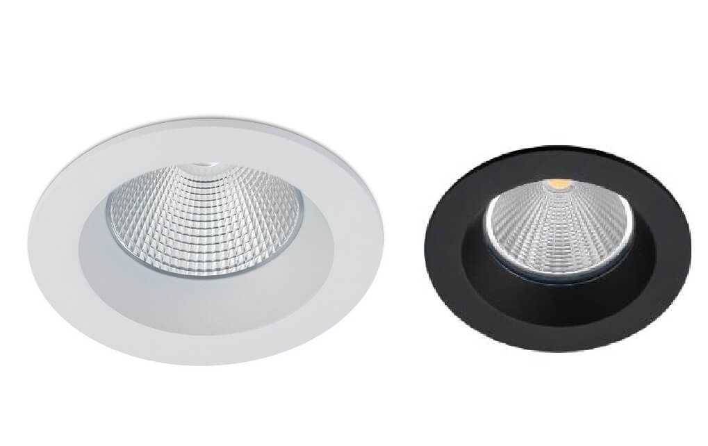 Nowoczesna lampa łazienkowa LED IP65 wpuszczana