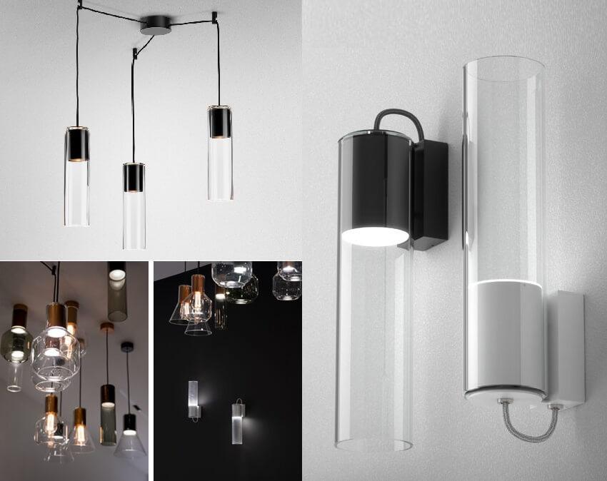 Lampy Aqform modern glass