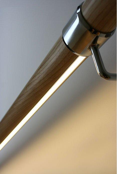 bal1 Podświetlana poręcz lub balustrada