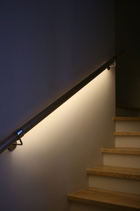 bal2 Podświetlana poręcz lub balustrada