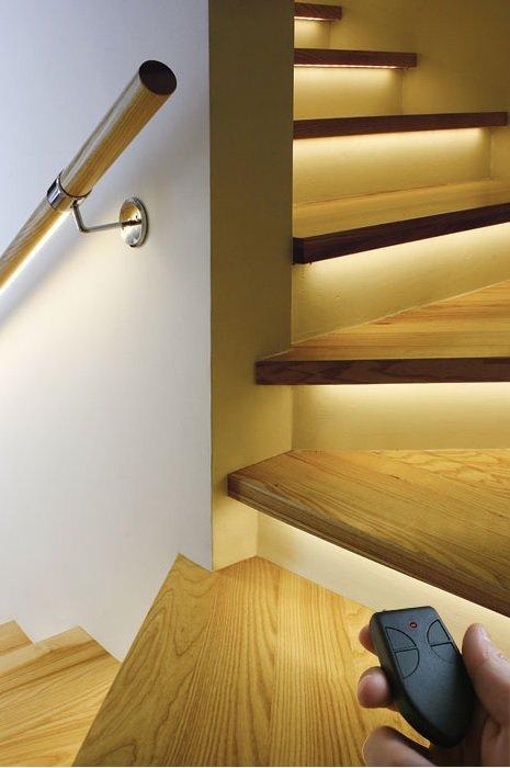 bal3 Podświetlana poręcz lub balustrada